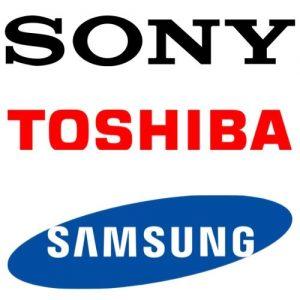 Logo Sony Toshiba samsung