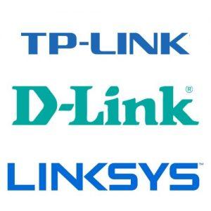Logo TP-Link D-Link Linksys