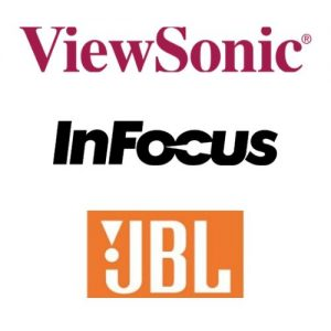 Logo Viewsoni Infocus Jbl