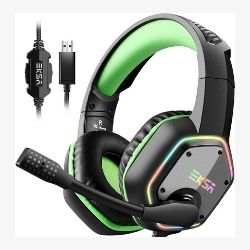 Gaming Headset 7.1 Surround Sound Stereo compatible PS4 89€