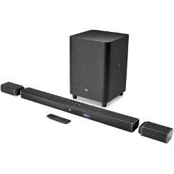 JBL Bar 5.1 - Channel 4K Ultra HD Soundbar with True Wireless Surround Speakers 599€