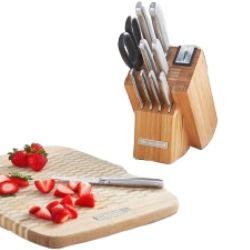 Set couteaux avec planche KKFSS12BO 99€