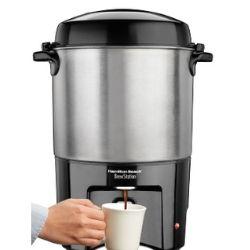 Machine à café Hamilton Beach 40 tasses 52€