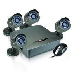 Kit 4 Cameras surveillance Nexxt Xpy4004 249€