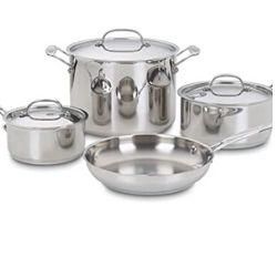 Lot casserole Cuisinart 7 pièces 159€