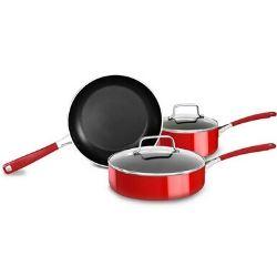 Lot de 5 casseroles Kitchen Aid KC2AS05BER 89€