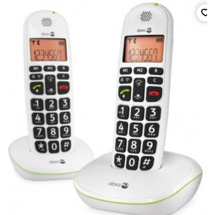 Téléphone DORO DUO PhoneEasy 100W 69€