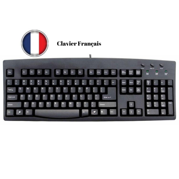 Clavier Français AZERTY à partir de 11€