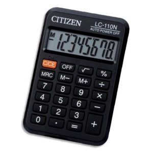 Calculatrice Citizen 9€
