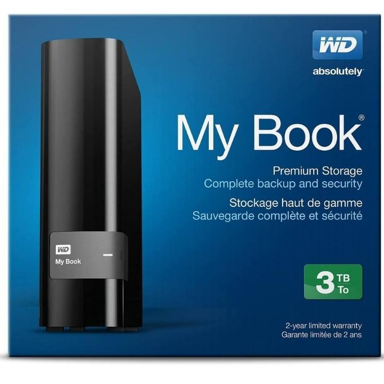 Disque dur externe 3TB WD My Book