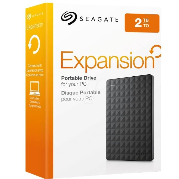 Disque dur externe Seagate 2TB