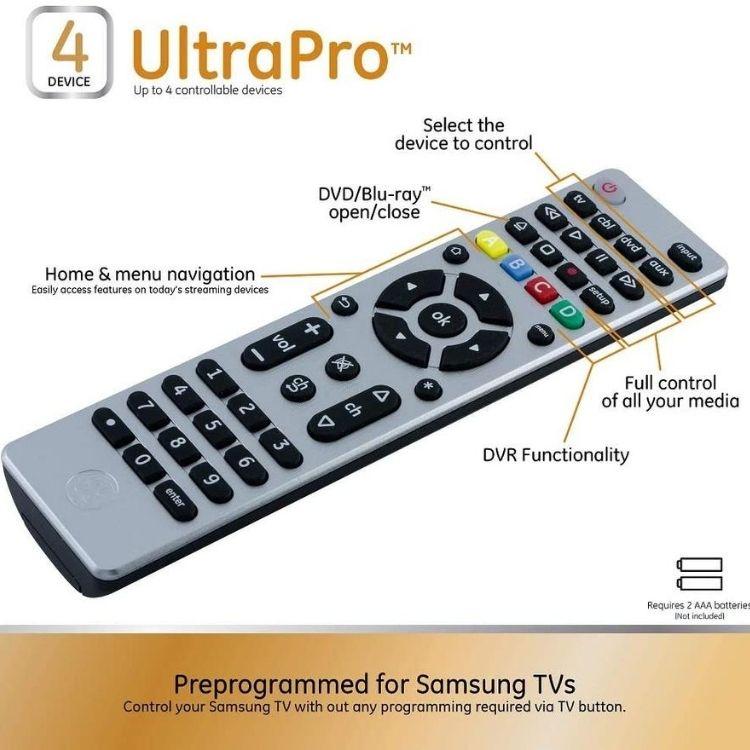 Télécommande GE universal remote 39€