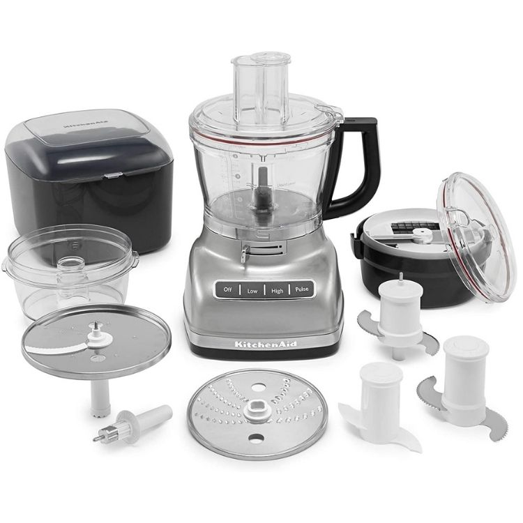 KitchenAid KFP1466CU 14-Cup Food Processor with Exact Slice System and Dicing Kit 299€