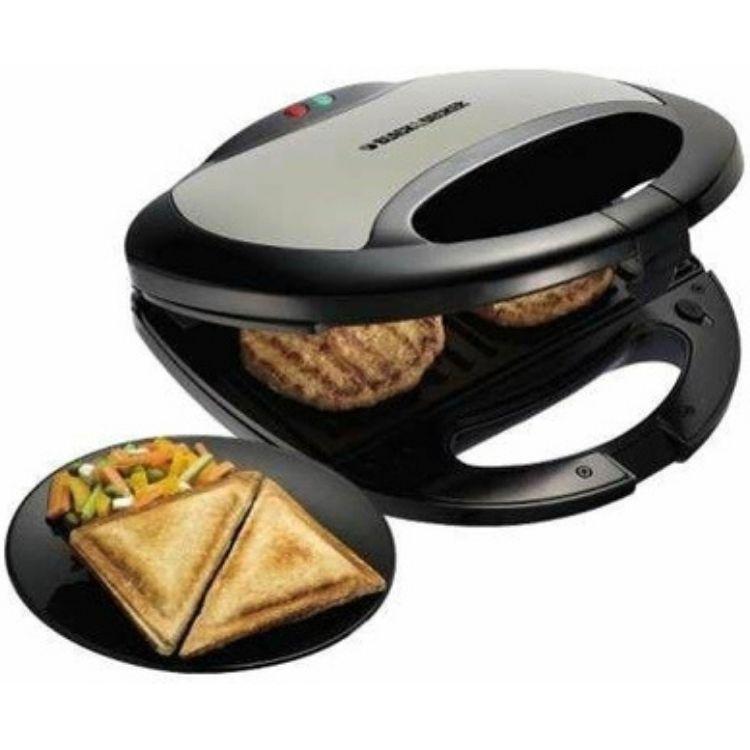 Machine à sandwiches Black & Decker K-BD-TS2080-B5 59€