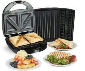 Machine à sandwich, waffle & Gril VonShef 220 Volt 85€